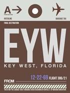 EYW Key West Luggage Tag II