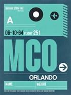 MCO Orlando Luggage Tag II