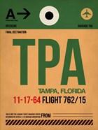 TPA Tampa Luggage Tag I