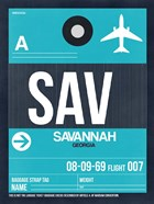 SAV Savannah Luggage Tag II