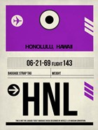 HNL Honolulu Luggage Tag I