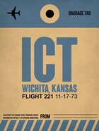 ICT Wichita Luggage Tag I
