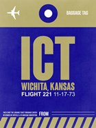 ICT Wichita Luggage Tag II