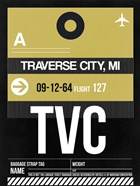 TVC Traverse City Luggage Tag II