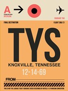 TYS Knoxville Luggage Tag I
