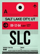 SLC Salt Lake City Luggage Tag I