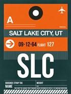 SLC Salt Lake City Luggage Tag II