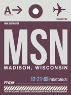 MSN Madison Luggage Tag II