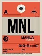 MNL Manila Luggage Tag I