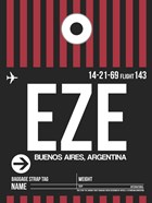 EZE Buenos Aires Luggage Tag II