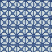 Blue Shibori I (blue coffee bean)