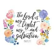 Floral Bible Verse II