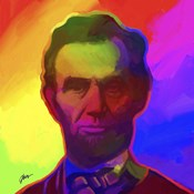 Pop Art Abe Lincoln