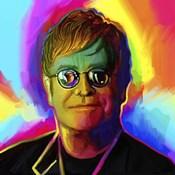 Elton John Pop Art