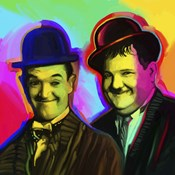 Laurel Hardy Pop Art