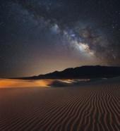 Milky Way over Mesquite Dunes