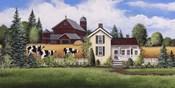 House, Barn & Cows