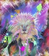 Tribal Lion Head