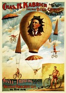 Circus 1882 - Bicycle Parachute Act