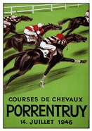 Laubi Hugo Courses Chevaux Porrentruy Year-1946
