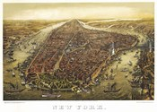 New York Map 1874