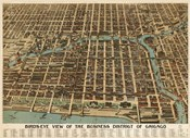 Birds Eye Chicago biz district-1898