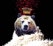 Royal Love Grizzly Bear