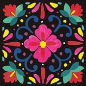 Floral Fiesta Tile VII