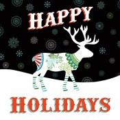 Mod Holiday on Black I