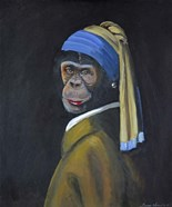 Monkey with Pearl Earring