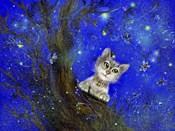 Night Cat Blue
