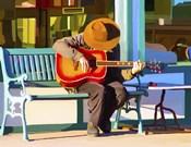 Play His Guitar