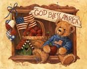 God Bless America Teddy