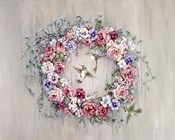Hummingbird Wreath