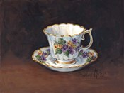 Viola Bouquet Teacup