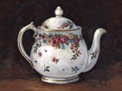 Mixed Blossom Teapot