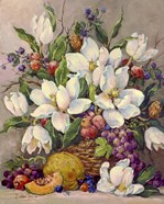Fruit and Magnolias