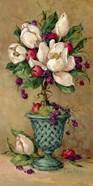 Magnolia Cluster Topiary I