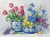 Spring Garden in Blue I