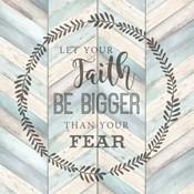 Let Your Faith Chevron