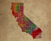 CA Colorful Counties