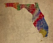 FL Colorful Counties