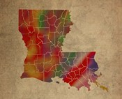 LA Colorful Counties