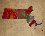 MA Colorful Counties