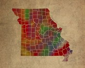 MO Colorful Counties