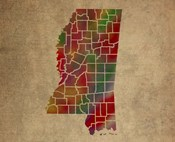 MS Colorful Counties