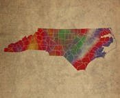 NC Colorful Counties