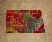 ND Colorful Counties