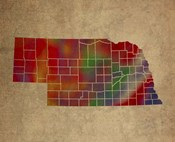 NE Colorful Counties