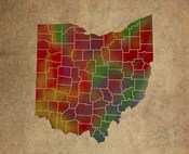 OH Colorful Counties